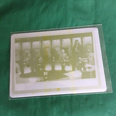 STAR WARS JOURNEY TO ROGUE ONE 2016 #29 YELLOW PRINTING PLATE Darth Vader 1/1