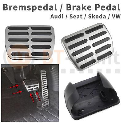 Bremspedal Edelstahl Sport VW Golf 5 6 GTI R20 R32 Plus DSG Scirocco Brems Pedal, gebraucht gebraucht kaufen  Hannover
