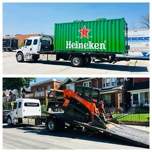 FLATBED TOWING & MOVING & FLOAT SERVICES 24/7 CALL 416 830 8854