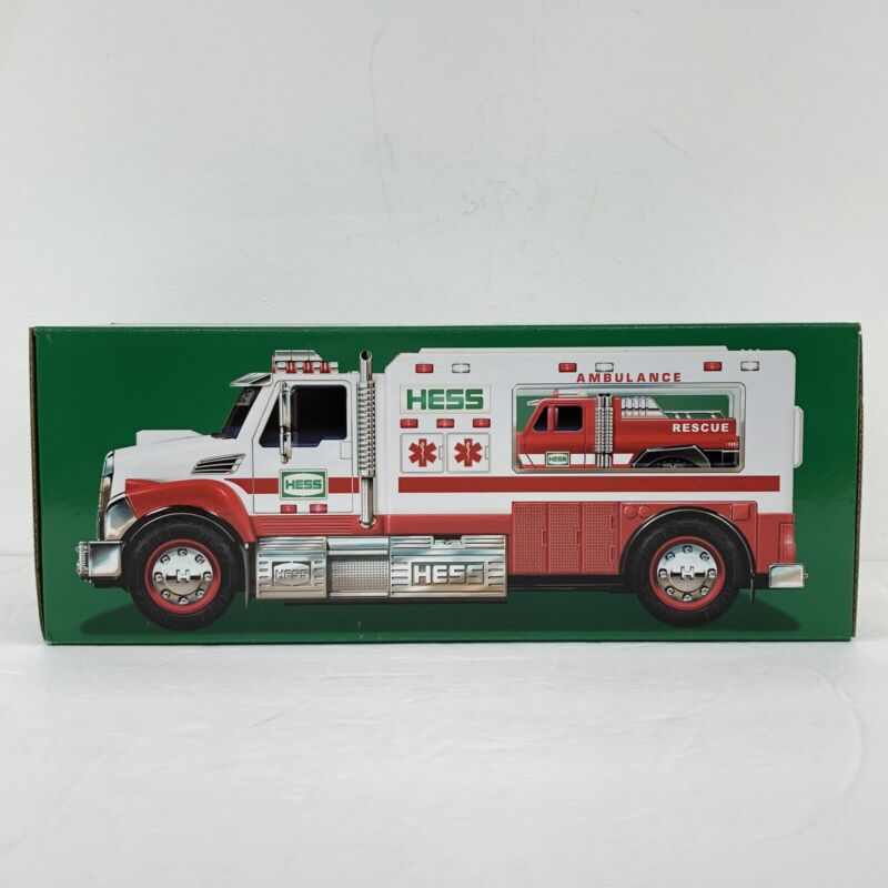 2020 Hess Holiday Truck And Ambulance New In Box