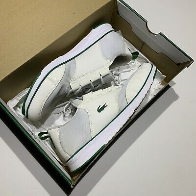 Lacoste White Active Trainers UK10 for sale  Shipping to South Africa