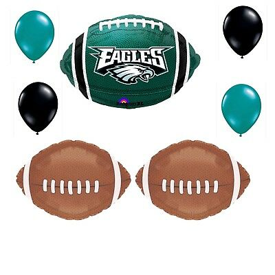 Eagles Party Decorations (Philadelphia Eagles 7 Piece Balloon Bouquet Birthday Party Decorations)