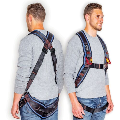 Kiting & Ground Handling Harness With Carabiners (Premium)