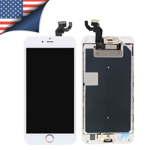 iPhone 6s/6 Plus Screen Replacement Complete LCD Digitizer Touch + Button Camera