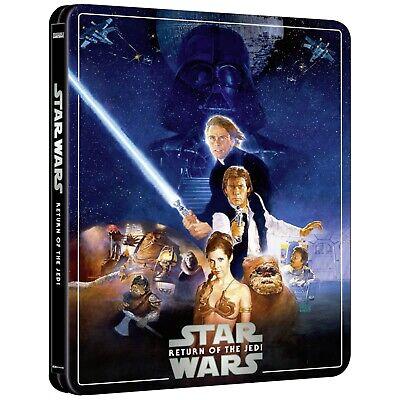 Star Wars Episode VI: Return Of The Jedi 4K Ultra HD Steelbook (3 Disk Ltd Ed)