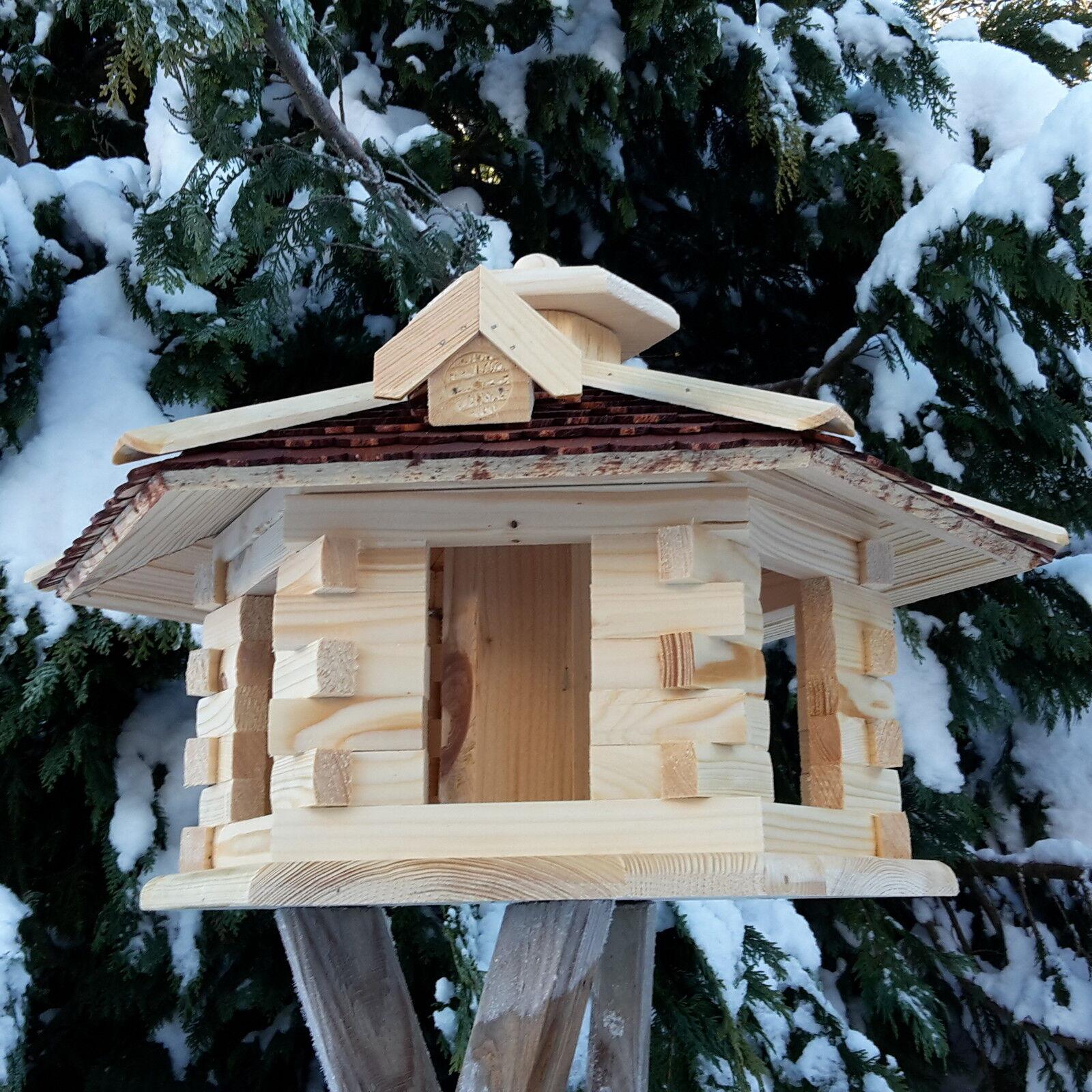 sehr gro es vogelhaus vogelh user vogelfutterhaus mit. Black Bedroom Furniture Sets. Home Design Ideas