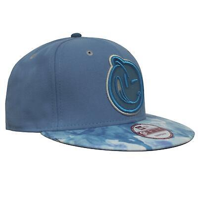 New Era Yums Snapback Hat Baseball Flat Brim Adjustable Cap Blue
