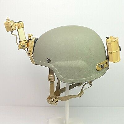 Medium SDS Advanced Combat Helmet ACH MICH ARMY Norotos ENVG AN/PSQ-20 Mount TBI