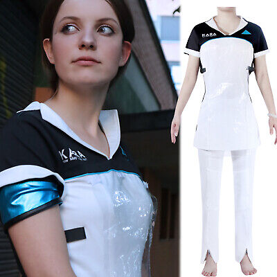 Detroit: Become Human Kara Outfit Dress Pant Uniform Suit Set Cosplay Costume - Motown Costume