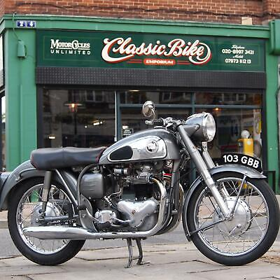 1959 Norton Dominator 99 Classic Vintage 600cc Matching Numbers Fully Documented