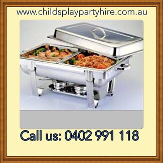 Tables, Chairs, Chafing Dishes & Party Equipment Hire Roxburgh Park Hume Area Preview