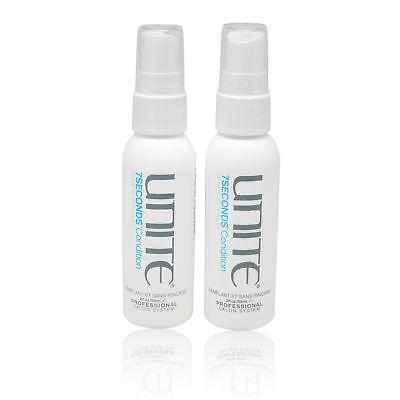UNITE Hair 7 Seconds Condition Leave in Detangler 2 oz. - 2 pack