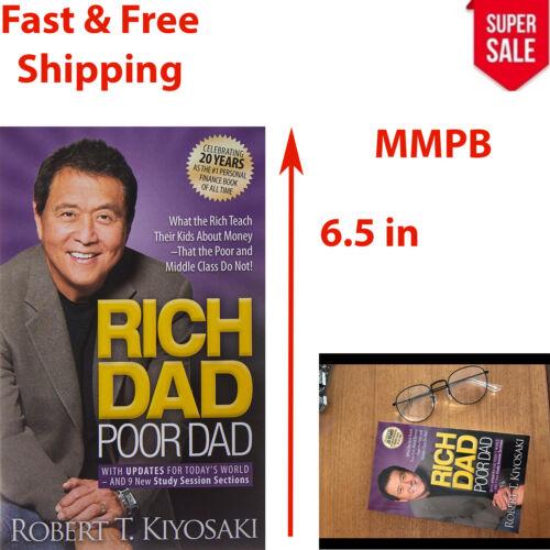 Robert Kiyosaki Rich Dad Poor Dad Book What Money Paperback Financial Success
