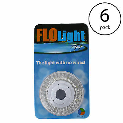 LED Above Ground Swimming Pool Flo Light Wireless Universal FloLight (6 Pack)