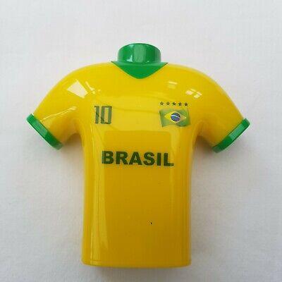Brasil Fútbol Camiseta Diseño Sacapuntas Agujero Doble Shave Papelera Niños Toys