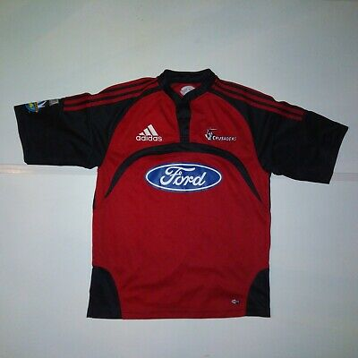 Crusaders 2007-08 home rugby jersey shirt. Medium men's. New Zealand