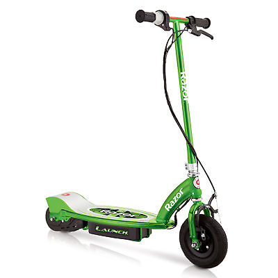 Razor Launch Motorized 24 Volt Rechargeable Electric Power Kids Scooter, Green