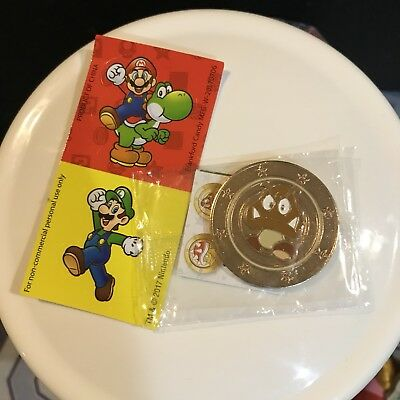 Nintendo Super Mario Wonder Ball Chocolate Candy Goomba Coin