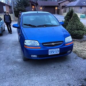 2004 Chevy Aveo SAFTIED and ETESTED 120,000km