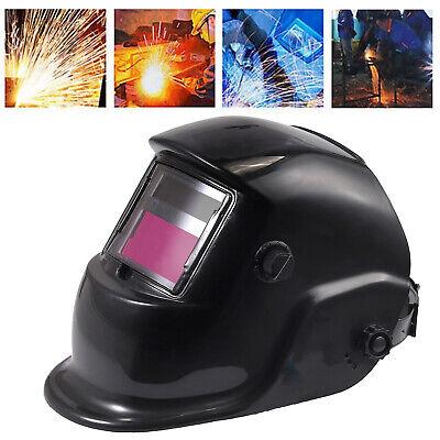 Din4 Solar Welder Mask Auto-darkening Welding Welders Helmet Arc W5x Free Lens