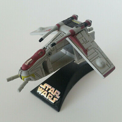 Republic Gunship Star Wars Micro Machines Titanium Series Model