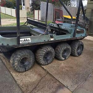 ARGO Conquest 8 wheel amphibious vehicle Mirboo North South Gippsland Preview
