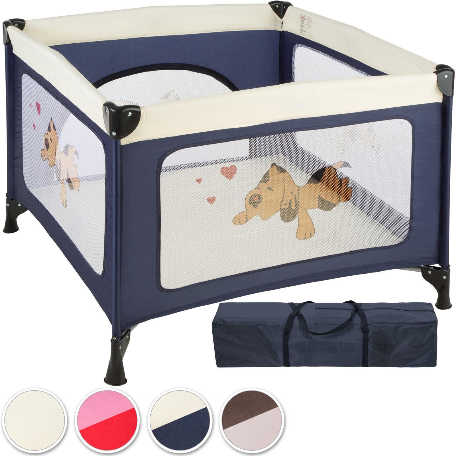 Box per gioco e nanna lettino da viaggio reticolato campeggio bambini bebé