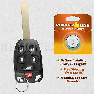 Keyless Entry Remote For 2011 2012 2013 Honda Odyssey Car Key Fob Control 6b ()