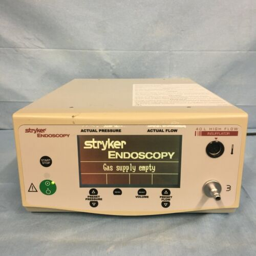 Stryker Endoscopy 0620-040-000 40L High Flow Insufflator