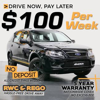$100pw - 5yr warranty, roadside, RWC, reg- 2010 Territory Williamstown North Hobsons Bay Area Preview