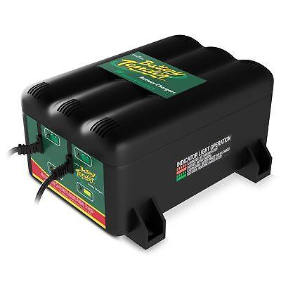 Battery Tender 022-0165-DL-WH 12-Volt 2-Bank Battery Management System Bank Battery Management System
