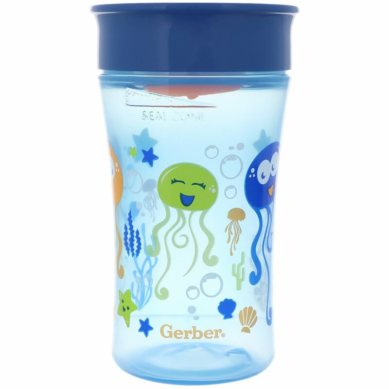 NUK  Magic 360  Magical Spoutless Cup  12  Months  Boy  1 Cup  10 oz  300 ml