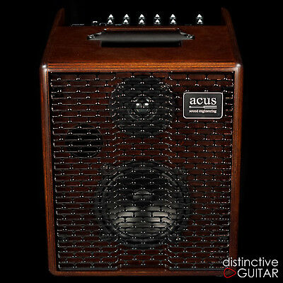 NEW ACUS SOUND ENGINEERING ONE FOR STRINGS 5T 75W ACOUSTIC GUITAR COMBO AMP