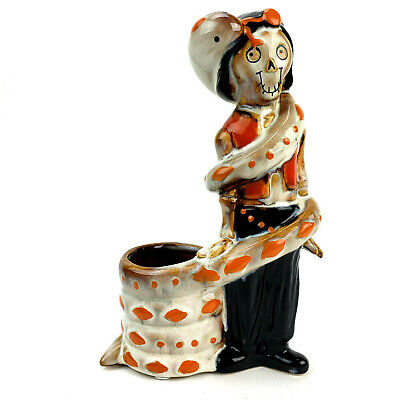 Yankee Candle Halloween Boney Bunch Snake Charmer Votive Candle Holder 2019