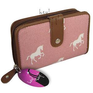 Medium / Large Purse Zipped Ladies Wallet Cards Window Big Zip Round Coin Pocket