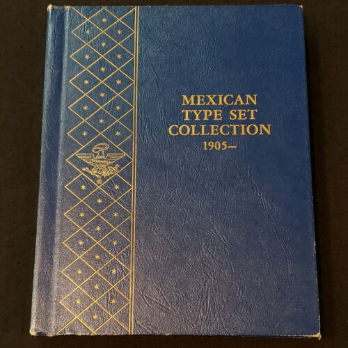 Whitman Mexican Type Set Collection 1905 - Used Album