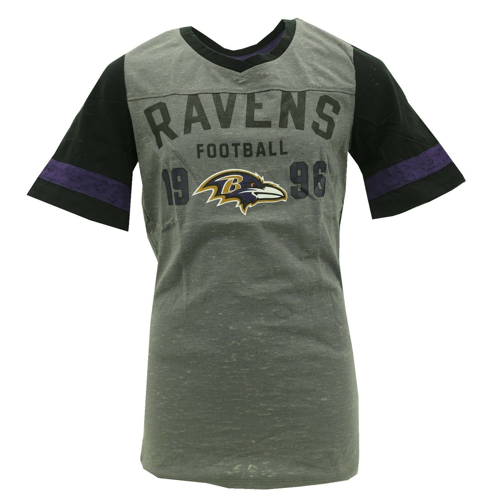 f0ab9114 Details about Baltimore Ravens Kids Youth Girls Size Official NFL Juniors  Sheer T-Shirt New