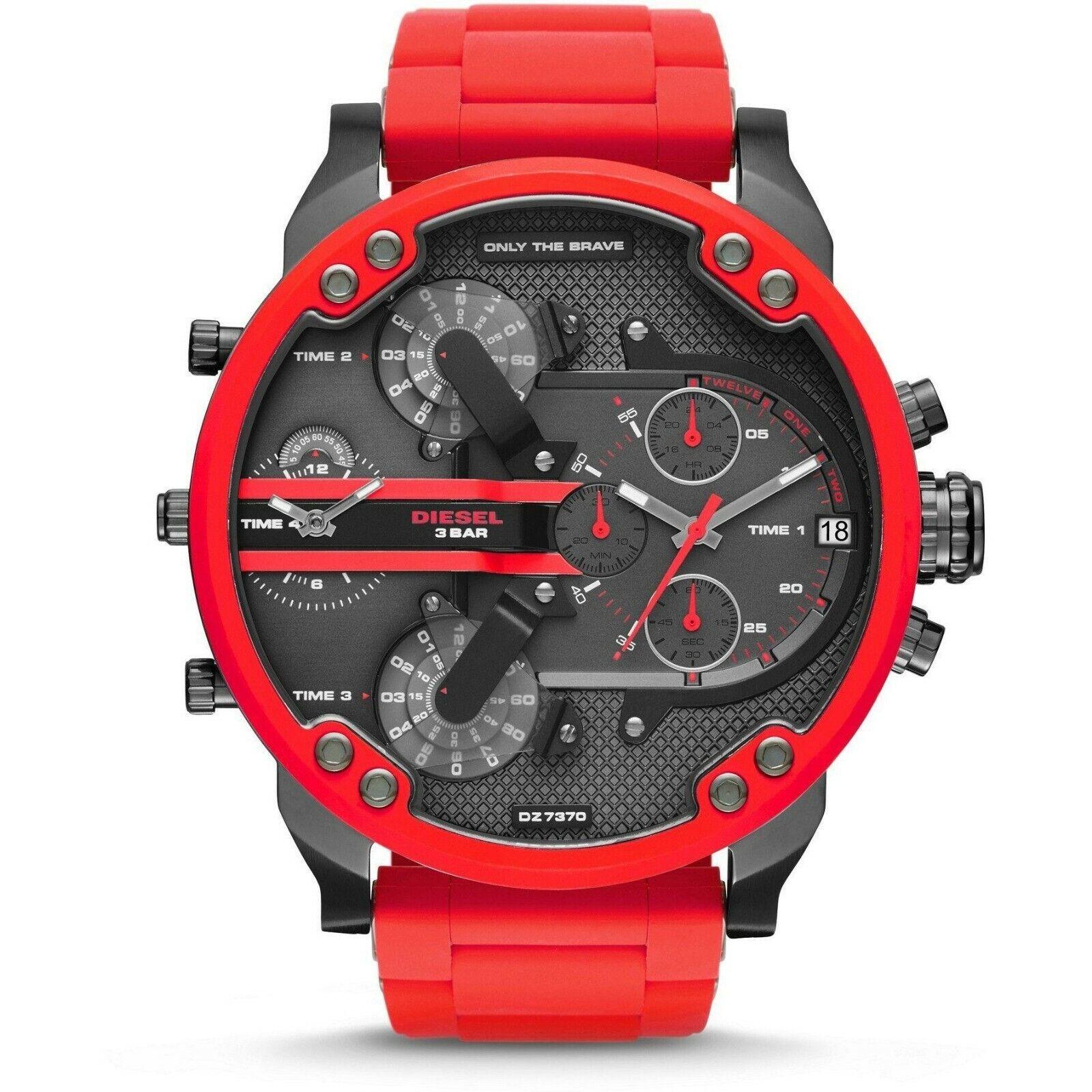 DIESEL DZ7370 Mr. Daddy 2.0 Gunmetal Dial Quartz Men's Watch