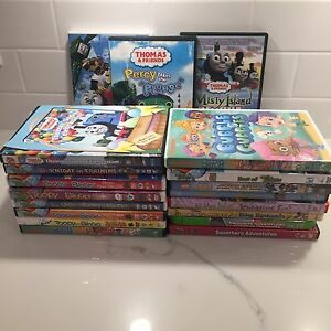 20 Assorted Toddler DVD Movies