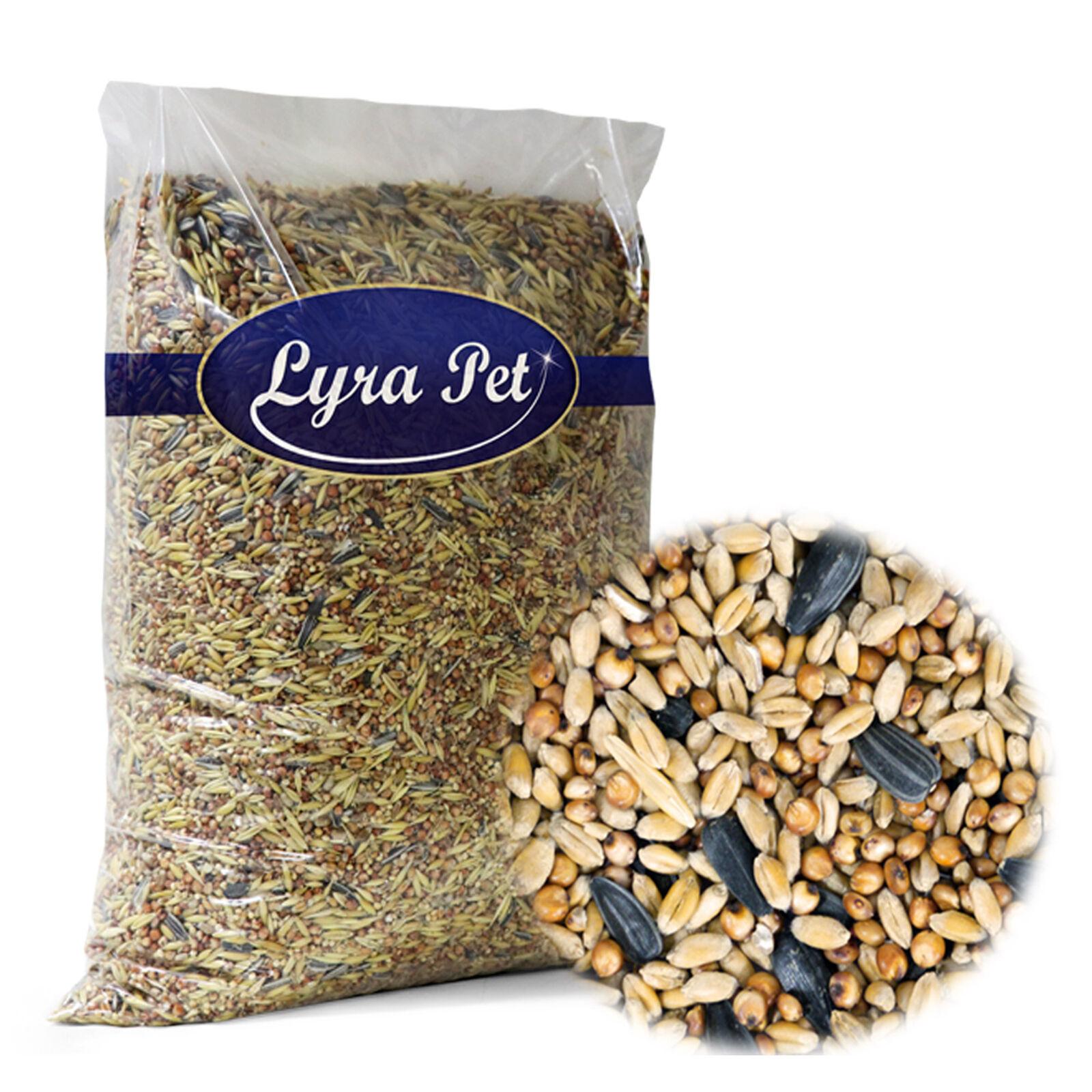 25 kg Streufutter Vogelfutter für Meisen Wildvögel Lyra Pet Premium Mischung
