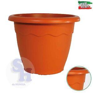 Vaso giardino plastica vulcano tondo diametro da 20 a 70 for Vendita piante e fiori da giardino
