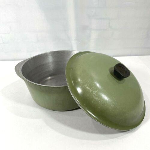 CLUB Avocado Green Aluminum Stock Pot/Dutch Oven Lid 4 QT VINTAGE