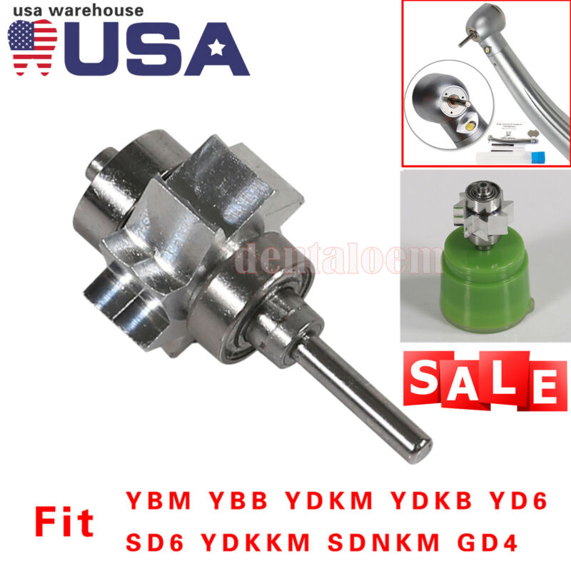 Dental Turbine Cartridge Rotor For Big Head High Speed Handpiece YBM PDM YD6 GD4