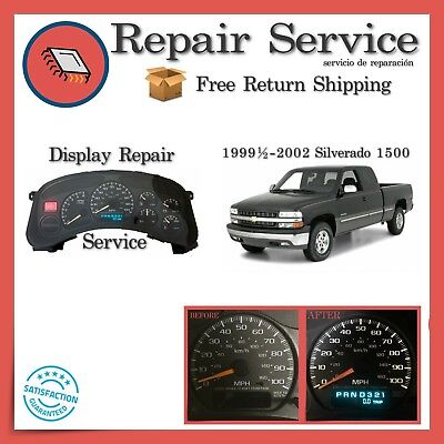 ✅CLUSTER GAUGE REPAIR | Chevrolet Silverado 1999 2000 2001 2002 | 99 00 01 02