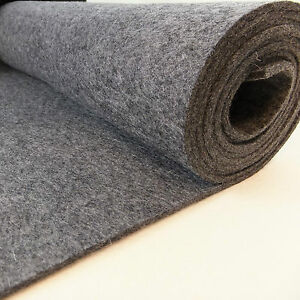 3-4mm thick pressed 100% Wool Felt  60cm wide per 0.5 metre