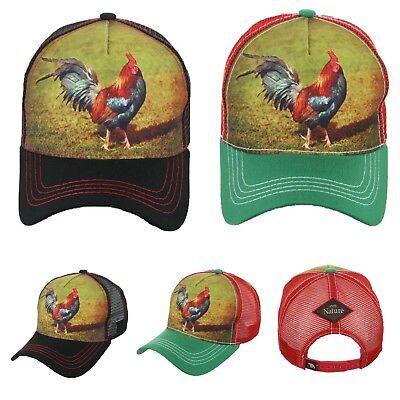 Baseball Cap Rooster Hat Plain Trucker Mesh Snapback Hats Gallo Caps Sports