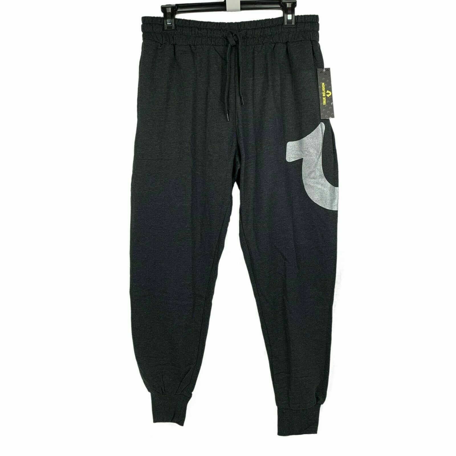 NWT True Religion Sweatpants Men's Joggers Horseshoe Logo S M L XL