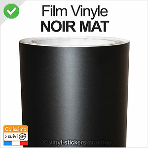 adh sif d coratif noir mat 200cm x 152cm film vinyl covering thermoformable ebay. Black Bedroom Furniture Sets. Home Design Ideas