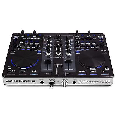 JB Systems USB DJ Kontrol 3S DJ Midi Controller Inkl. VirtualDJ WIN 10 Mac OS