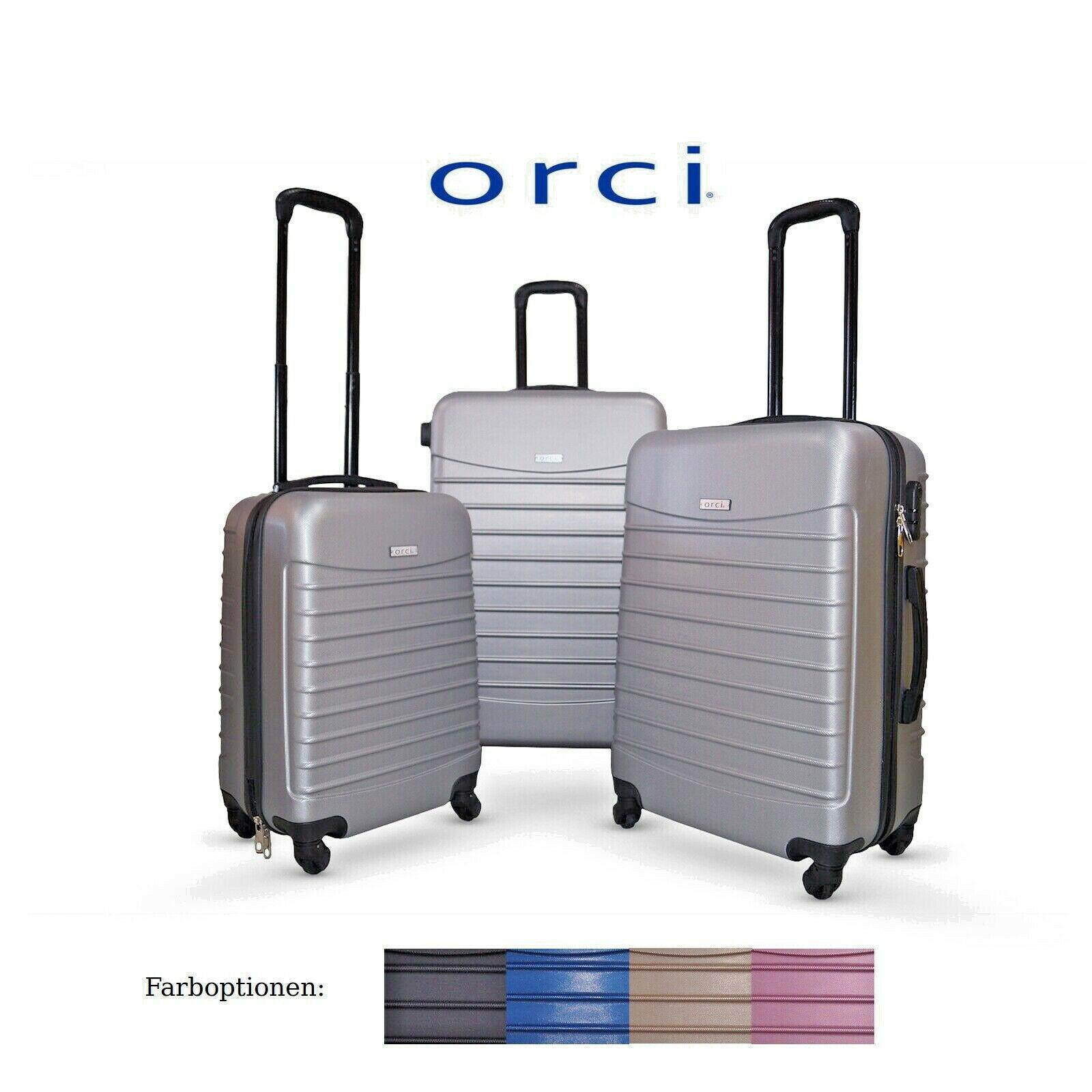 Orci Koffer Linie Reisekoffer Hartschale Trolley Kofferset Handgepäck M-L-XL-Set